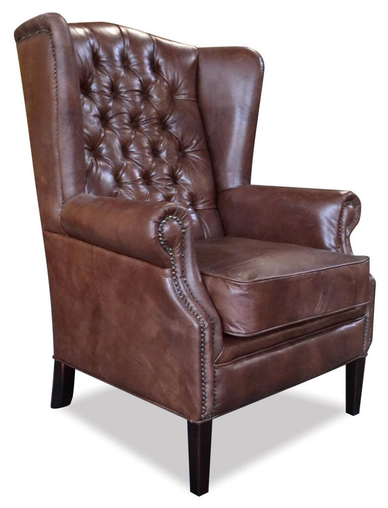 "Sessel ""Hemmingway"" braun, Art.-Nr.: 1000-99, Maße ca. in cm: 81 B x 87 T x 110 H"