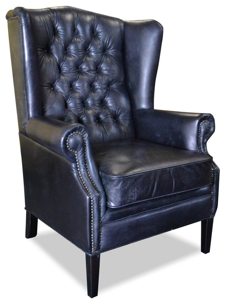 "Sessel ""Hemmingway"" schwarz, Art.-Nr.: 1100-99, Maße ca. in cm: 81 B x 87 T x 110 H"