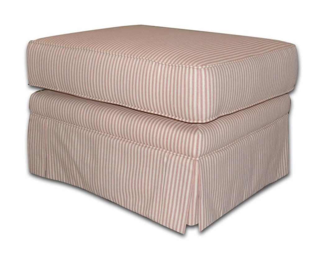 "Hocker ""Ticking Stripe"", Art.-Nr.: 4000-09, Maße ca. in cm: 72 B x 61 T x 50 H"