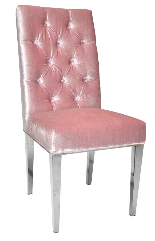 "Polsterstuhl ""Pink"", Art.-Nr.: GY-282, Maße ca. in cm: 49 B x 66 T x 106 H"